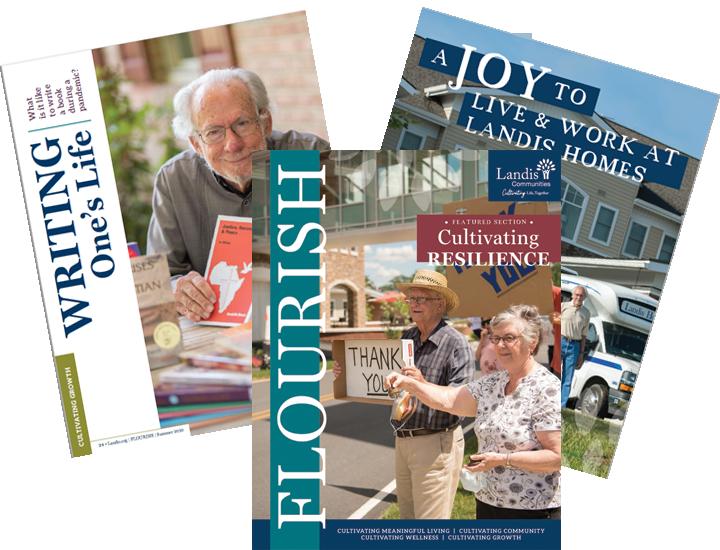 FLOURISH Landis Communities Magazine Summer Issue Released