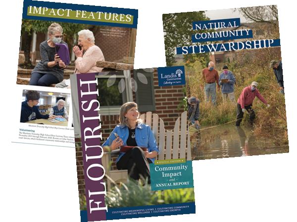 FLOURISH Landis Communities Magazine Fall Issue Released