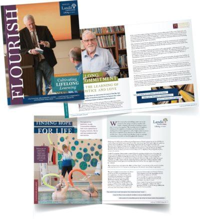 FLOURISH Landis Communities Magazine Spring Issue Released