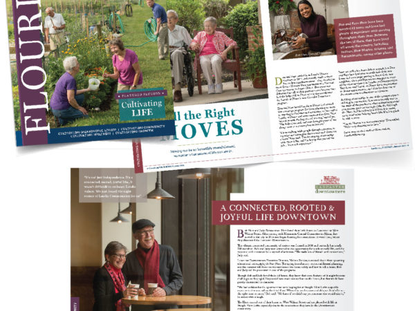 Summer issue of Landis Communities Flourish Magazine